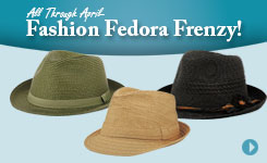 2014 Fashion Fedora Frenzy
